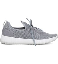 Carvela Limped Mesh Trainers Grey