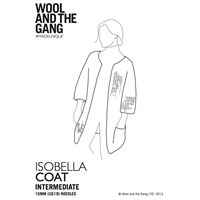 Wool And The Gang Women's Isobella Coat Knitting Paper Pattern