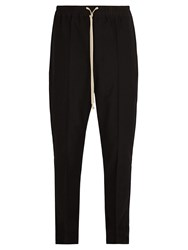Rick Owens Drawstring Waist Trousers Black