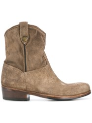 Alberto Fasciani Calipso Boots Brown