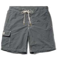 Hartford Mid Length Swim Shorts Gray