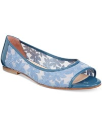 French Sole Fs Ny Noir Flats Women's Shoes French Blue
