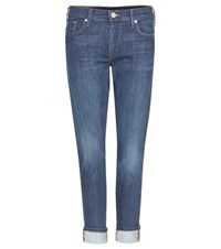True Religion Liv Cropped Jeans Blue