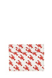 Forever 21 Lobster Print Coin Purse Red White