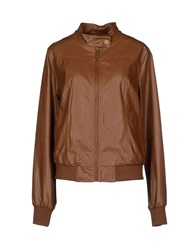 Duck Farm Jackets Brown