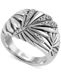 Effy Collection Effy Balissima Diamond Statement Ring 1 8 Ct. T.W. In Sterling Silver