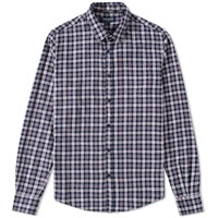Woolrich Archive Flannel Shirt Blue
