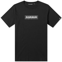 Napapijri Sox Box Logo Tee Black
