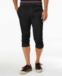 American Rag Men's Cropped Joggers Only At Macy's Deep Black