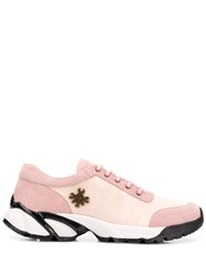 Mr And Mrs Italy Pink Lace Up Sneakers