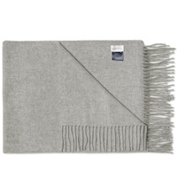 Gant Rugger Large Wrap Scarf Light Grey
