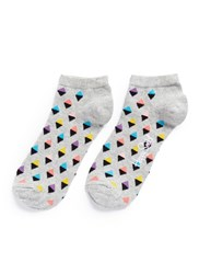 Happy Socks Mini Diamond Low Multi Colour