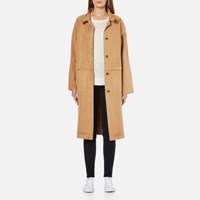 Selected Femme Women's Atea Coat Brown Sugar Beige
