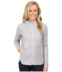 The North Face Slacker High Collar Full Zip Tnf Light Grey Heather Women's Sweatshirt Gray