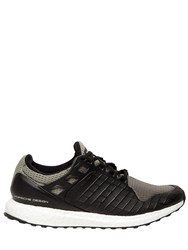 Porsche Design Sport Ultra Boost Nylon And Leather Sneakers