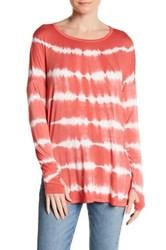 Sweet Romeo Long Sleeve Dolman Tee Pink