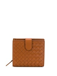 Bottega Veneta Intrecciato Wallet Brown