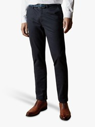 Ted Baker T For Tall Sncett Slim Fit Chinos Navy