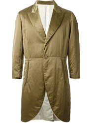 Jean Paul Gaultier Vintage Padded Coat Green