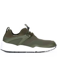 Stampd Drawstring Sneakers Green