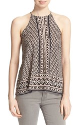 Women's Soft Joie 'Gillett' Ikat Print Sleeveless Top