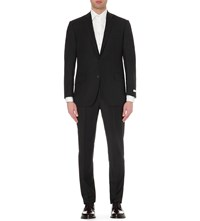 Richard James Hyde Regular Fit Wool Suit Black