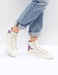 Paul Smith Ps By Dino High Top Trainers Cream