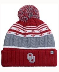 Top Of The World Oklahoma Sooners Altitude Knit Hat Gray Crimson