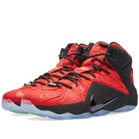 Nike Lebron Xii Ext 'Red Paisley' University Red And Black