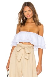 By The Way Susan Off Shoulder Top White