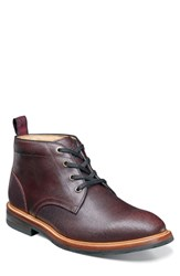 Florsheim Foundry Leather Boot Burgundy Leather