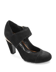 Kenneth Cole Reaction Spicy Juice Mary Jane Heels Black
