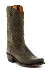 Lucchese Mad Dog Goat Cowboy Boot Gray