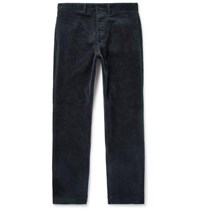 Margaret Howell Cotton Corduroy Trousers Navy