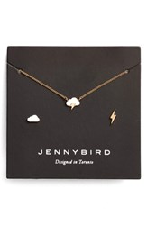 Jenny Bird Women's Dark And Stormy Necklace Set Gold