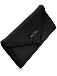 Folli Follie Saffiano Envelope Wallet Black