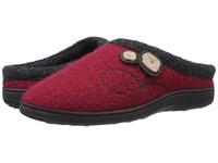 Acorn Dara Currant Button Women's Shoes Red