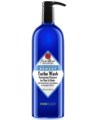 Jack Black Turbo Wash Energizing Cleanser For Hair And Body With Rosemary Eucalyptus And Juniper Berry 33 Oz