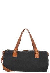 Your Turn Sports Bag Washed Black Cognac
