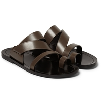 Danward Multi Strap Leather Sandals