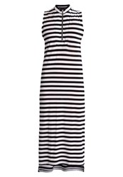 Tiger Of Sweden Jeans Rayana Jersey Dress Black White