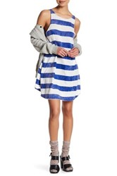 Wildfox Couture Rugby Stripe Dress Blue