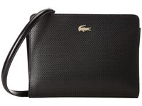 Lacoste Chantaco Crossover Bag Black Cross Body Handbags