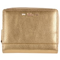 Tula Violet Leather Wallet Purse Gold