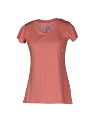 Element Topwear Short Sleeve T Shirts Women Coral