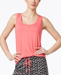 Alfani Solid Pajama Tank Only At Macy's Pink