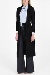 Elizabeth And James Olive Belted Robe Cardigan Black