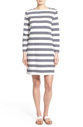 Women's Vineyard Vines 'Triple Stripe' Cotton Shift Dress