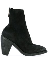 Guidi Slouch Ankle Boots Women Leather 35 Black