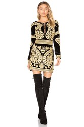 For Love And Lemons Paris Mini Dress Black
